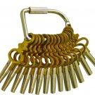 New Pocket Watch Winding Keys - 14 pc set  KWA-14