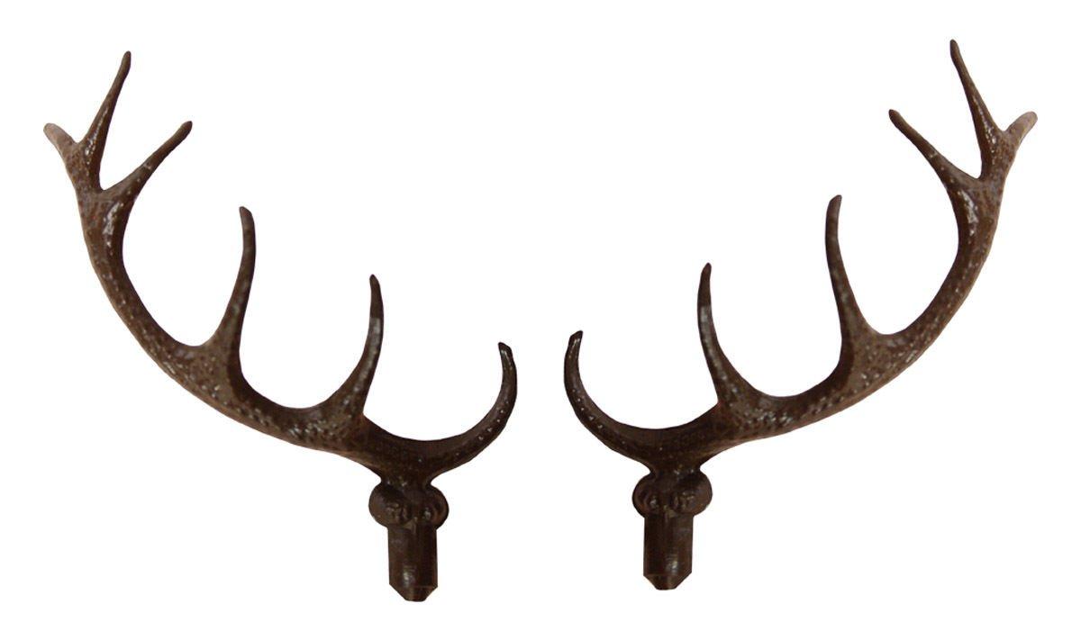 Cuckoo Clock Deer Antlers - 2-3/4� (70mm) - Plastic Antlers - CC-276