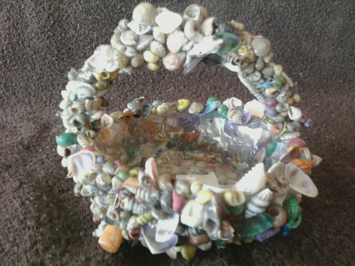 Small Seashell Basket