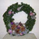 Sugar Plum Christmas Wreath