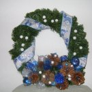 Let It Snow Christmas Wreath