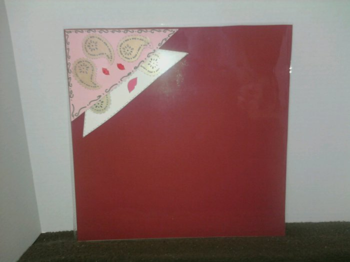 Valentine's Day or Wedding Day Scrapbook Page