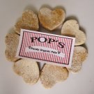 Sample Chicken Sweet Potato Hearts All Natural Dog Treats