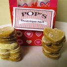Valentines Day Chicken Sweet Potato Hearts All Natural Dog Treats