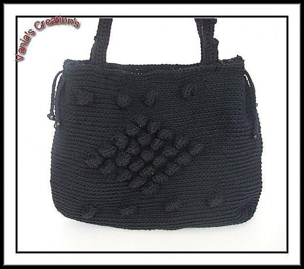Black partial Bubble Bag