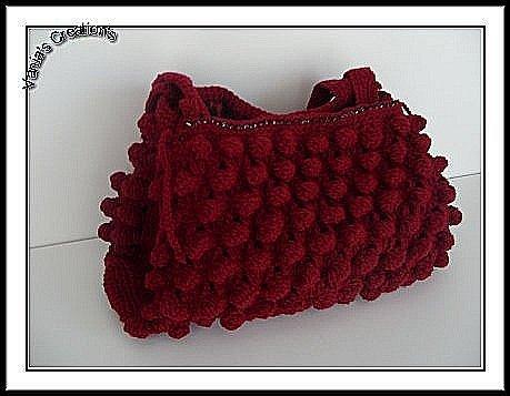 Red Bubble Fashion Bag