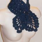 Blue Necktie/Neckwarmer