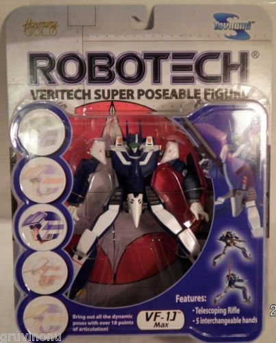 Robotech Veritech Super Poseable Figures Complete Set 5