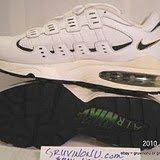 Nike Air Burst II Leather Pine Gold 1996 NIB Sz 9.5