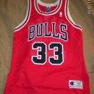 Scottie Pippen Game Jersey 33 Champion Bulls 40 Vintage