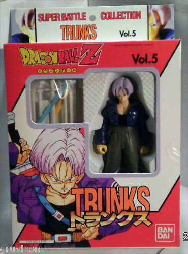 Dragonball Z vol 5 TRUNKS figure MIB DBZ