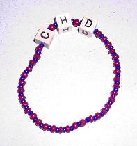 Sead Bead/Letter Bracelet