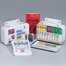 10 Unit 46 Piece ANSI First Aid Kit Metal Case w/ Gasket