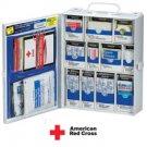 137-piece Medium Food Industry First Aid Cabinet Restaurant Deli Cafeteria- Metal