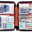 205 Piece Outdoor First Aid Kit Hiking Camping Marine Home Auto