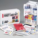 Trucker's First Aid Kit 16 Unit 87 Piece Metal Case