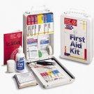 Vehicle Auto Fleet Commercial OSHA First Aid Kit 93 Piece Metal Case