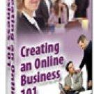 Creating an Online Business 101  eBook