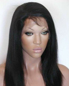 """18"""" Yaki Indian Remy  Full Lace Wig"""