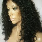 "8"" Curly Indian Remy Full Lace Wig"