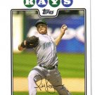 2008 Topps Tampa Bay Rays 21 card team LOT