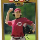 2008 Topps Gold Border #570 Homer Bailey Reds