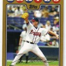 2008 Topps Gold Border #600 Tom Glavine Braves