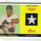 2007 Topps Heritage Clubhouse Collection CC-DO David Ortiz Jersey Red Sox