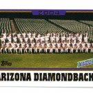 2005 Topps Arizona Diamondbacks 25 card team SET