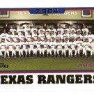 2005 Topps Texas Rangers 21 card team LOT
