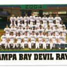 2005 Topps Tampa Bay Devil Rays 20 card team SET