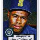 2007 Topps 52 Crome Debut Flashbacks DFC2 Ken Griffey Jr. Mariners