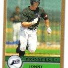 2003 Topps Traded Gold T161 Jonny Gomes PROS Devil Rays