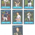 2007 Bowman Chrome Prospects 14-card LOT
