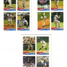 2004 Bazooka 4 on 1 Sticker 3 card LOT