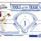 2005 Absolute Memorabilia Tools of the Trade Blue TT1 Ozzie Smith Cardinals