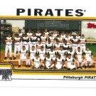 2004 Topps Pittsburgh Pirates 16 card team SET