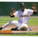 1995 Collector's Choice San Francisco Giants 19 card team SET