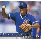 1995 Collector's Choice Chicago Cubs 17 card team SET