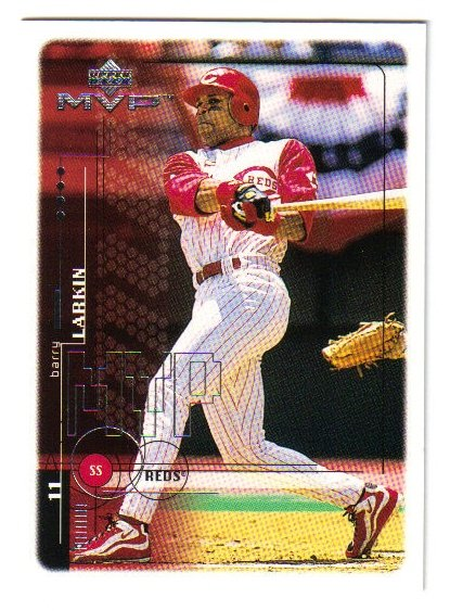1999 Upper Deck MVP Cincinnati Reds 7 card team SET