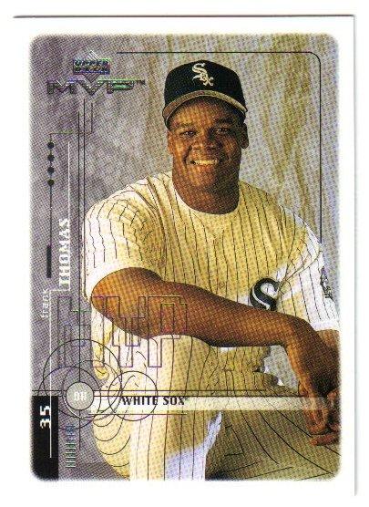 1999 Upper Deck MVP Chicago White Sox 7 card team SET