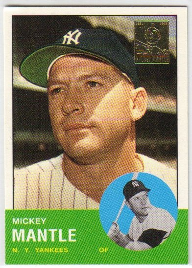 1996 Topps Mantle #13 Mickey Mantle Yankees