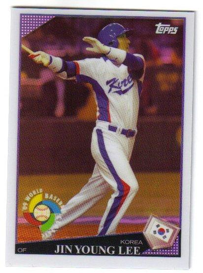 2009 Topps World Baseball Classics W35 Jin Young Lee
