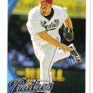 2010 Topps San Diego Padres 20 card team SET