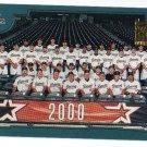 2001 Topps Houston Astros 27 card team SET