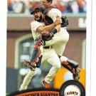 2011 Topps San Francisco Giants 25 card team SET