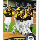 2011 Topps San Diego Padres 23 card team SET