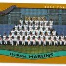 2002 Topps Florida Marlins 20 card team SET