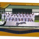 2002 Topps Milwaukee Brewers 22 card team SET