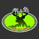 Custom Deer Hunting Decal -B